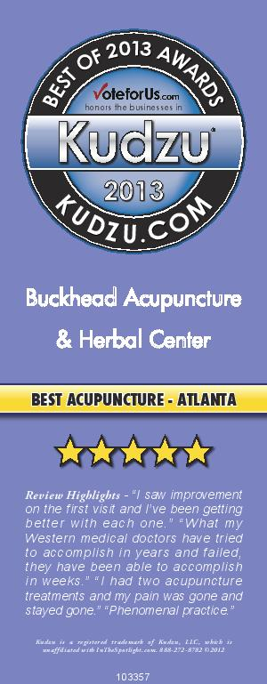 Acupuncture Award